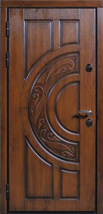 входные двери с отделкой фрезеровкой