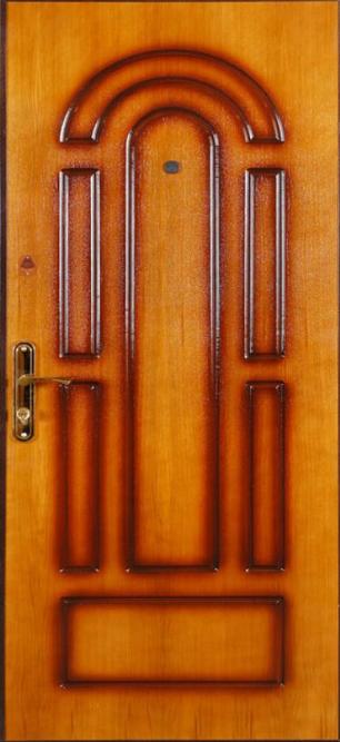 металлические шпонированные двери подольск