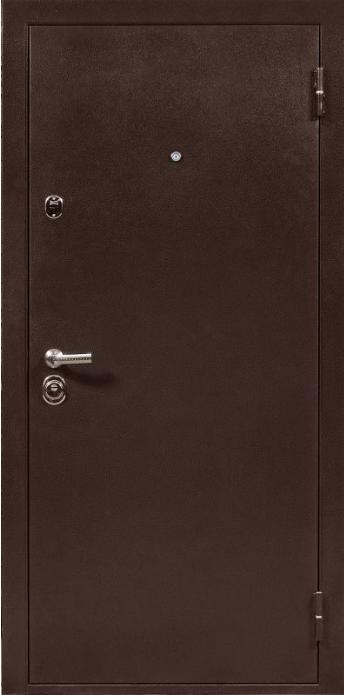 металлические двери с полимерным покрытием в покрытием