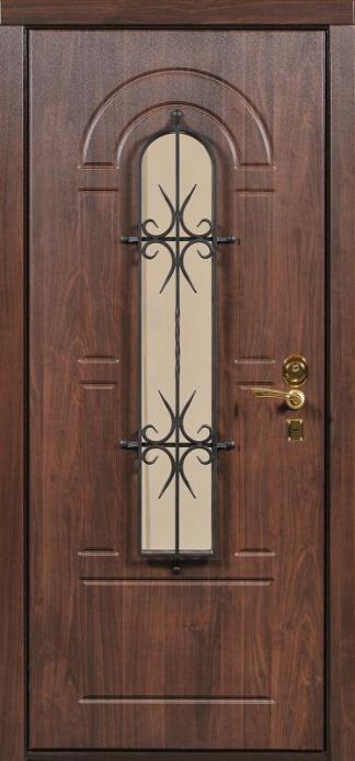 металлические двери с окошком для аптеки