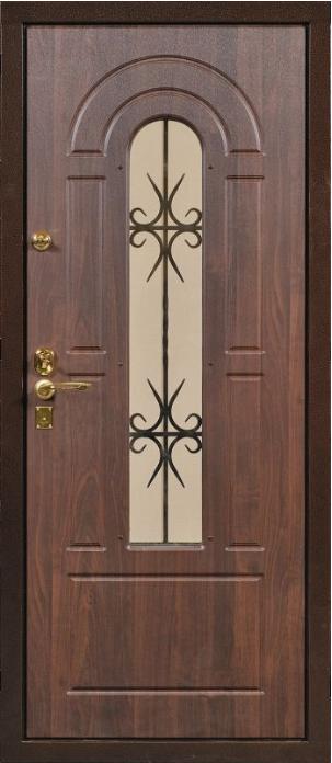двери входные металлические со стеклопакетом коломна