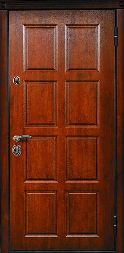 купить железную 3 х листовую дверь